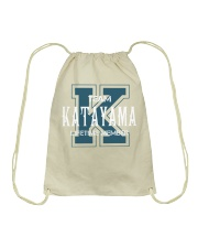 Team KATAYAMA - Lifetime Member Drawstring Bag thumbnail
