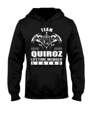Team QUIROZ Lifetime Member - Name Shirts Hooded Sweatshirt front