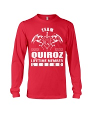 Team QUIROZ Lifetime Member - Name Shirts Long Sleeve Tee thumbnail