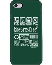 Table Games Dealer Phone Case thumbnail