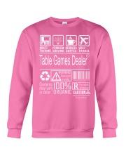 Table Games Dealer Crewneck Sweatshirt thumbnail