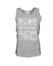 Table Games Dealer Unisex Tank thumbnail