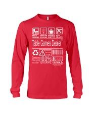Table Games Dealer Long Sleeve Tee thumbnail