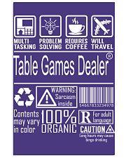 Table Games Dealer 11x17 Poster thumbnail