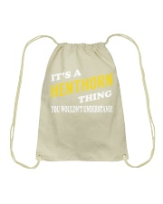 Its a HENTHORN Thing - Name Shirts Drawstring Bag thumbnail