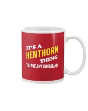 Its a HENTHORN Thing - Name Shirts Mug thumbnail