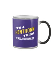 Its a HENTHORN Thing - Name Shirts Color Changing Mug thumbnail