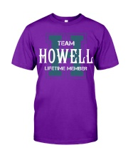 Team HOWELL - Lifetime Member Classic T-Shirt thumbnail
