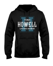 Team HOWELL - Lifetime Member Hooded Sweatshirt front