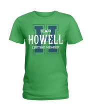 Team HOWELL - Lifetime Member Ladies T-Shirt thumbnail