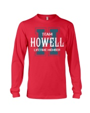 Team HOWELL - Lifetime Member Long Sleeve Tee thumbnail