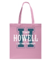 Team HOWELL - Lifetime Member Tote Bag thumbnail