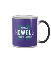 Team HOWELL - Lifetime Member Color Changing Mug thumbnail
