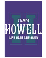 Team HOWELL - Lifetime Member 11x17 Poster thumbnail