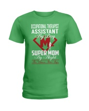 Occupational Therapist Assistant - Super Mom Job Ladies T-Shirt thumbnail
