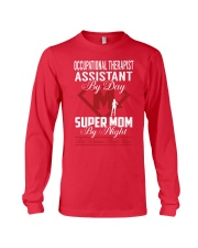 Occupational Therapist Assistant - Super Mom Job Long Sleeve Tee thumbnail