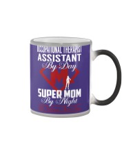 Occupational Therapist Assistant - Super Mom Job Color Changing Mug thumbnail