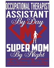 Occupational Therapist Assistant - Super Mom Job 11x17 Poster thumbnail
