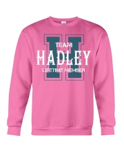 Team HADLEY - Lifetime Member Crewneck Sweatshirt thumbnail