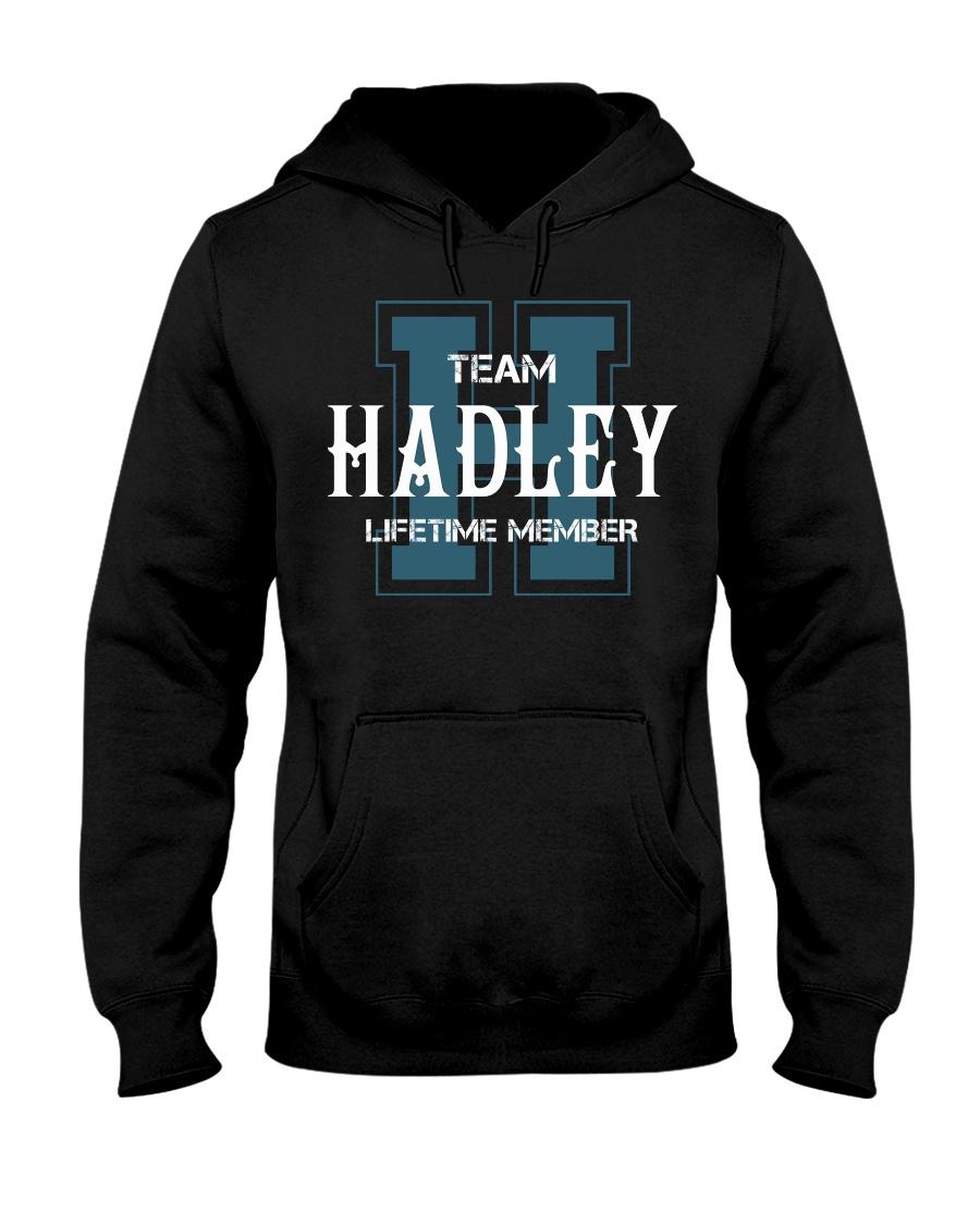 Team HADLEY - Lifetime Member Hooded Sweatshirt