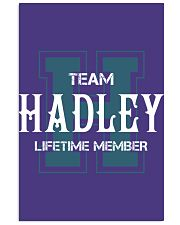 Team HADLEY - Lifetime Member Vertical Poster tile