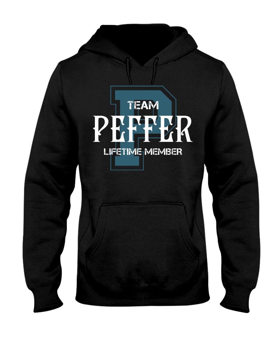 Team PEFFER - Lifetime Member Hooded Sweatshirt