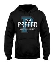 Team PEFFER - Lifetime Member Hooded Sweatshirt front