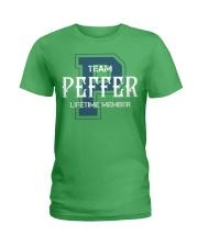 Team PEFFER - Lifetime Member Ladies T-Shirt thumbnail