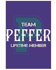 Team PEFFER - Lifetime Member 11x17 Poster thumbnail