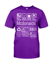 Mcdonalds Classic T-Shirt thumbnail