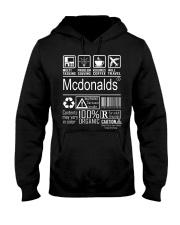 Mcdonalds Hooded Sweatshirt front