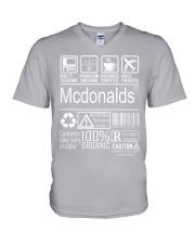 Mcdonalds V-Neck T-Shirt thumbnail
