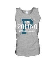 Team POLINO - Lifetime Member Unisex Tank thumbnail