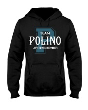 Team POLINO - Lifetime Member Hooded Sweatshirt front