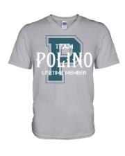 Team POLINO - Lifetime Member V-Neck T-Shirt thumbnail