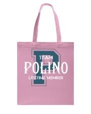 Team POLINO - Lifetime Member Tote Bag thumbnail