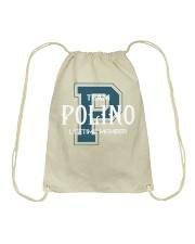 Team POLINO - Lifetime Member Drawstring Bag thumbnail