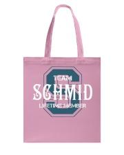 Team SCHMID - Lifetime Member Tote Bag thumbnail