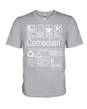 Comedian V-Neck T-Shirt thumbnail