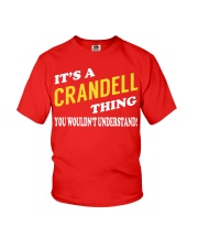 Its a CRANDELL Thing - Name Shirts Youth T-Shirt tile