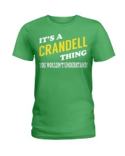 Its a CRANDELL Thing - Name Shirts Ladies T-Shirt tile