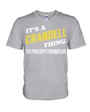 Its a CRANDELL Thing - Name Shirts V-Neck T-Shirt thumbnail