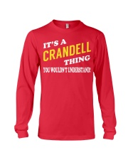 Its a CRANDELL Thing - Name Shirts Long Sleeve Tee tile