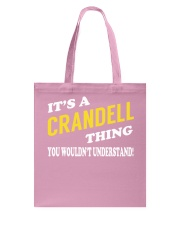 Its a CRANDELL Thing - Name Shirts Tote Bag tile