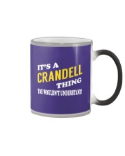 Its a CRANDELL Thing - Name Shirts Color Changing Mug tile