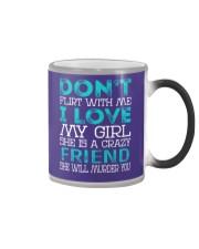 Friend - Dont Flirt Job Title Color Changing Mug thumbnail