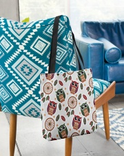 Happy Dreams with Owls All-over Tote aos-all-over-tote-lifestyle-front-01