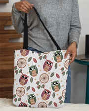 Happy Dreams with Owls All-over Tote aos-all-over-tote-lifestyle-front-10