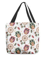 Happy Dreams with Owls All-over Tote back