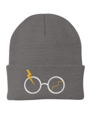 Embroidery Glasses Knit Beanie front